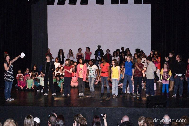 окончание концерта в Кавалье де Ласаль