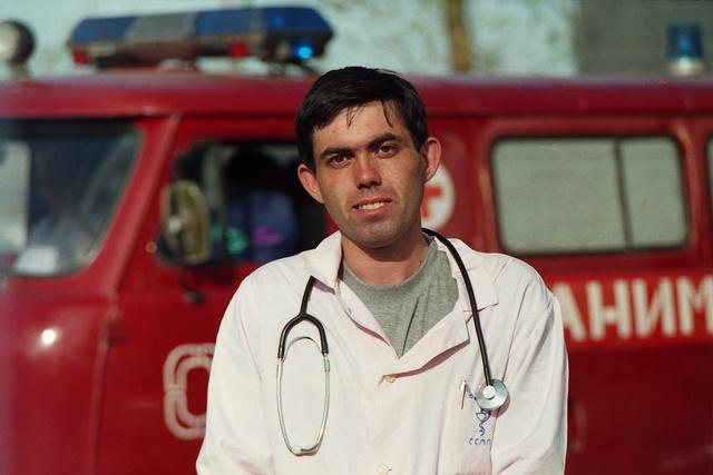 Alexander Deyneko ambulance Yakutsk