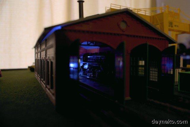 поезд для железной дороги ho