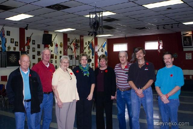 L'équipe des bénévoles dans LaSalle Légion
