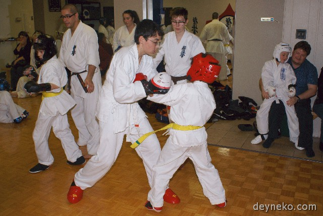 Alex dans club de Karate Lasalle