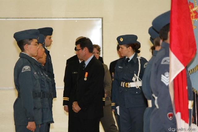 L'inspection dans l'escadron
