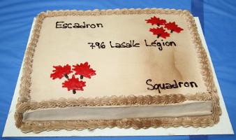 Parade finale d'année des cadets du Canada en l'escadron 796