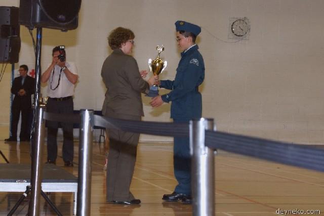 le trophée du president du comité des parents des cadets de l'air