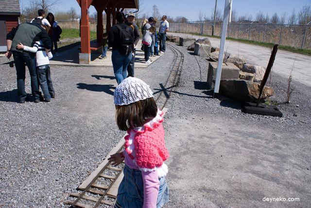 мини колея железной дороги