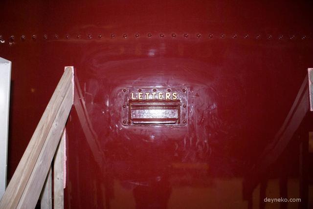 почтовый ящик почтовом вагоне