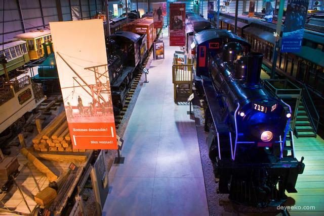 Канадский железнодорожный музей Explorail