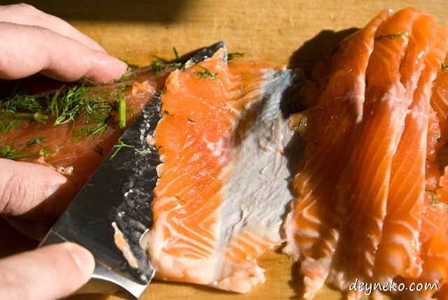 how to prepare cured trout