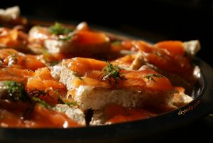 Sugar-salt cured trout recipe