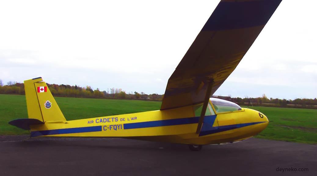 Mon premier vol en planeur