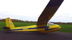 Мой первый полет на планере