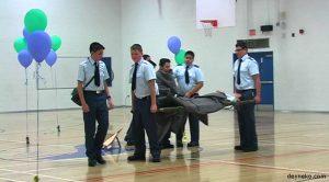 Vidéo de 42ème revue annuelle des cadets de l'air – Escadron 796