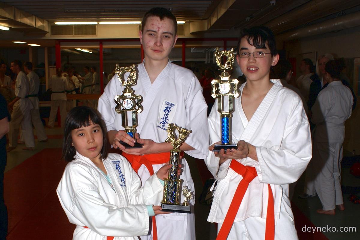 Каратэ киокушинкай: 31-й Чемпионат Востока Канады