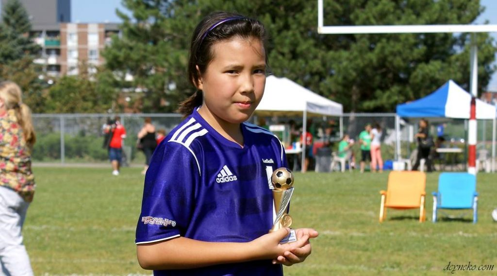 girls soccer in lasalle