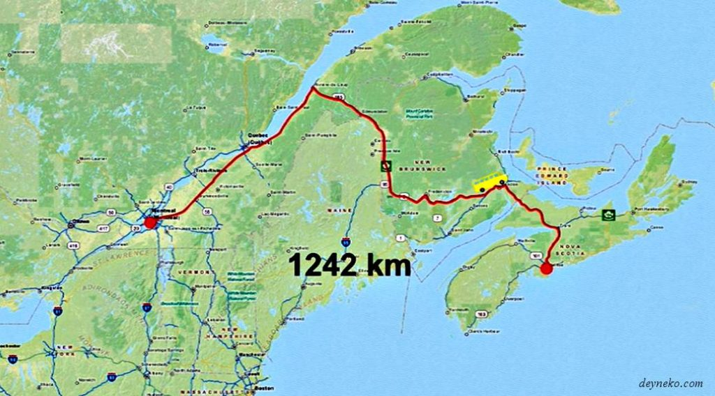 путешествие Галифакс Новая Скотия