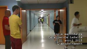 Comment notre école Cavelier-de Lasalle se prepare pour la course du Grand Défi
