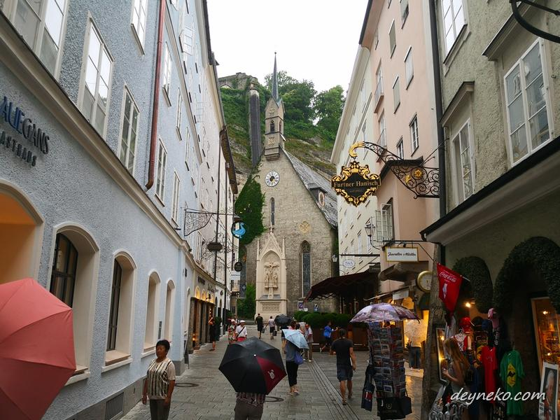 пешеходная прогулка по Зальцбургу