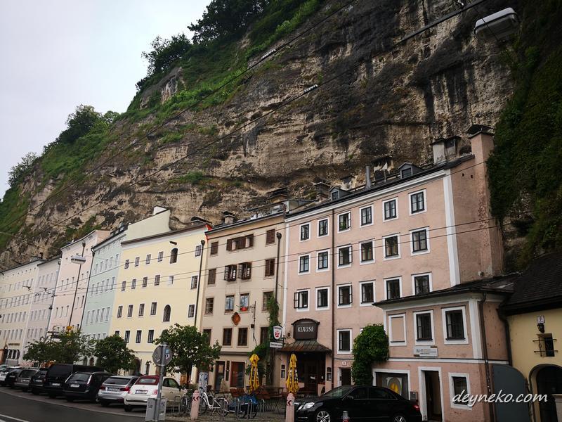 дом в скале, Зальцбург