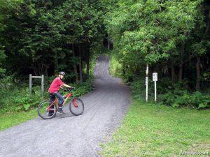 Parc de la Gorge de Coaticook Vélo de montagne