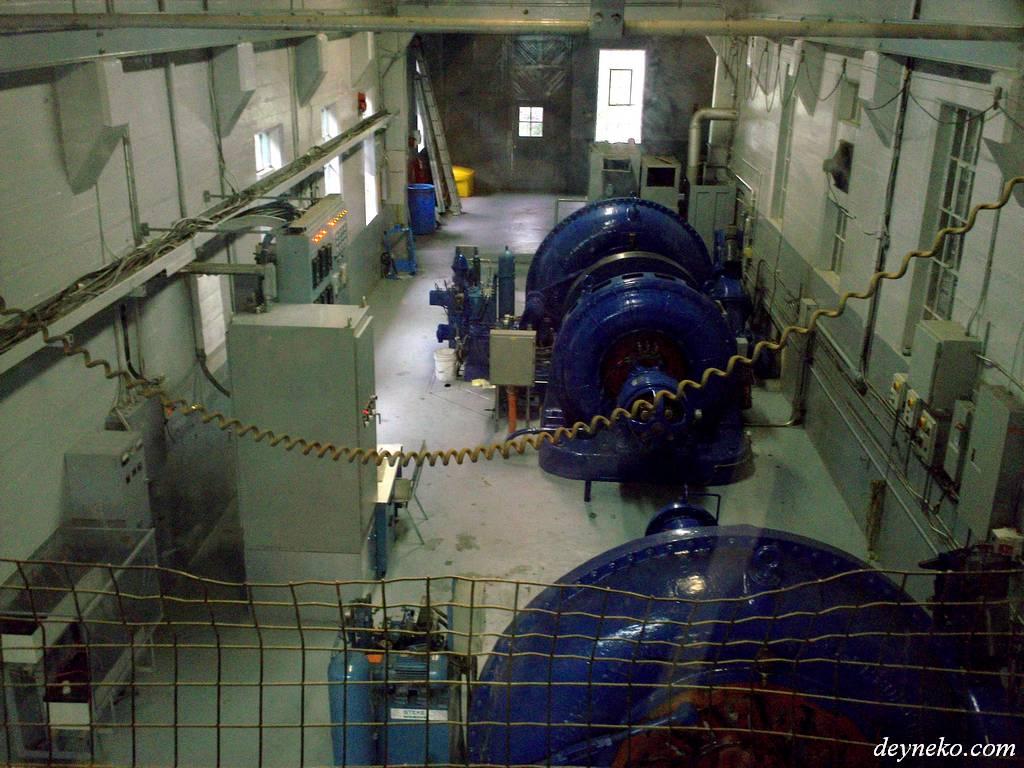 Генераторы гидроэлектростанции