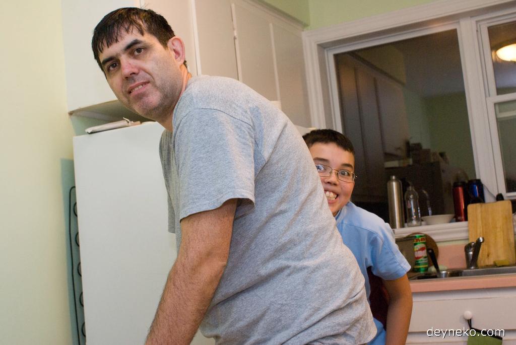 Мужчины на кухне…