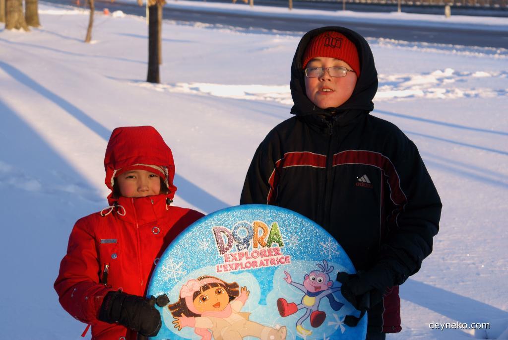 Notre premier hiver au Canada