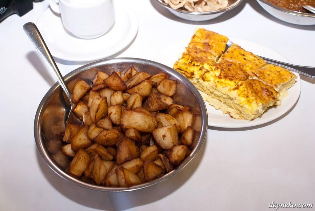 Картошечка и омлет