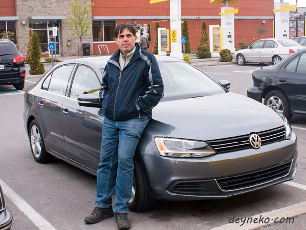Арендованная машина Volkswagen Jetta