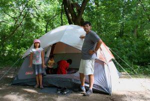 Notre premier camping au parc de la gorge de coaticook