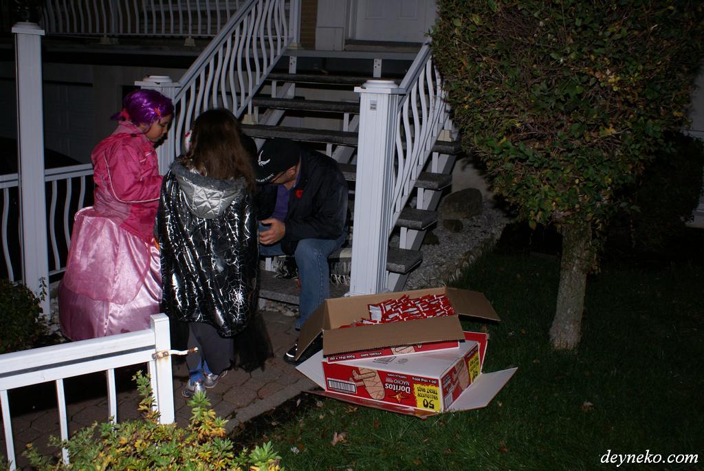 Ящики сладостей закуплены, человек готов к Хэллоуину