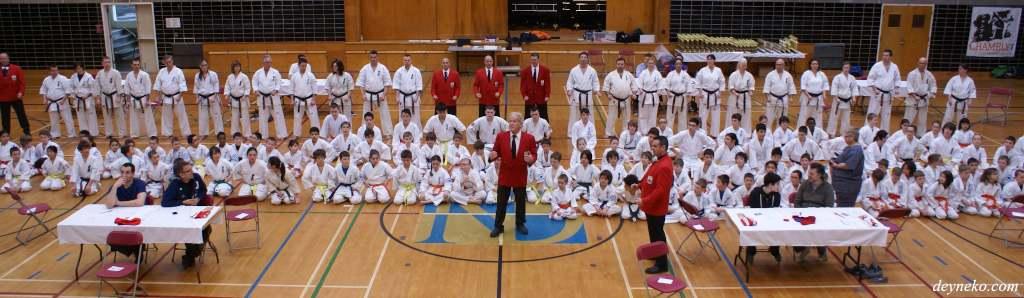 Karaté kyokushin Montréal 2013 - 31e Championnat de l'Est du Canada