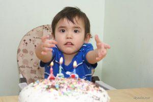 Алену исполнилось 3 года