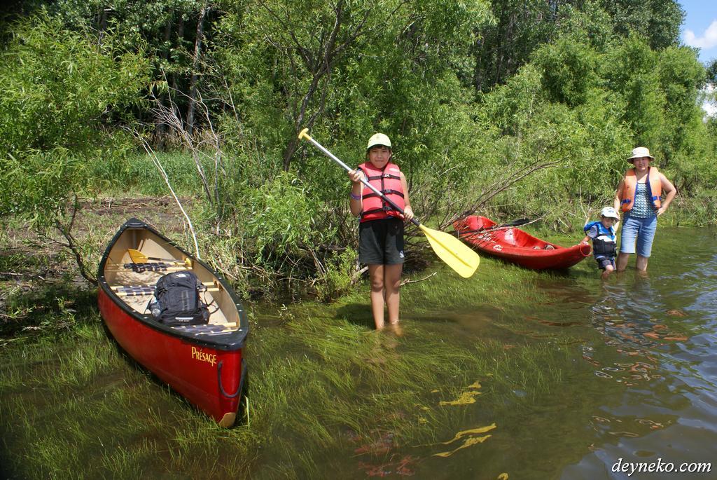 canoter national parc de la yamaska