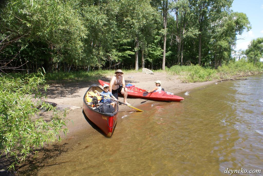 kayak et canoe