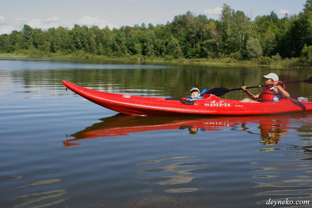 kayak parc national de la yamaska