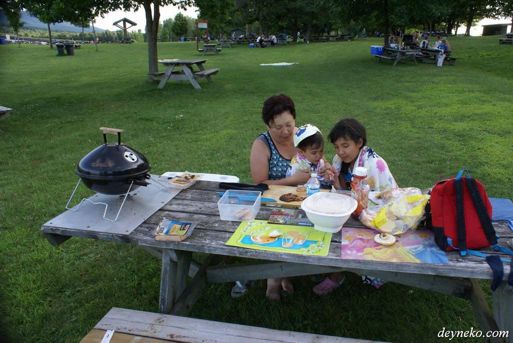 пикник в парке Ямаска