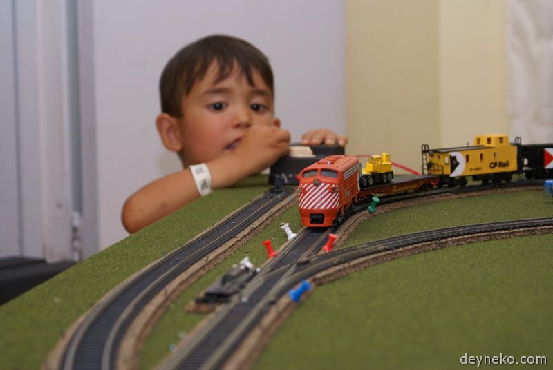 железная дорога для ребенка
