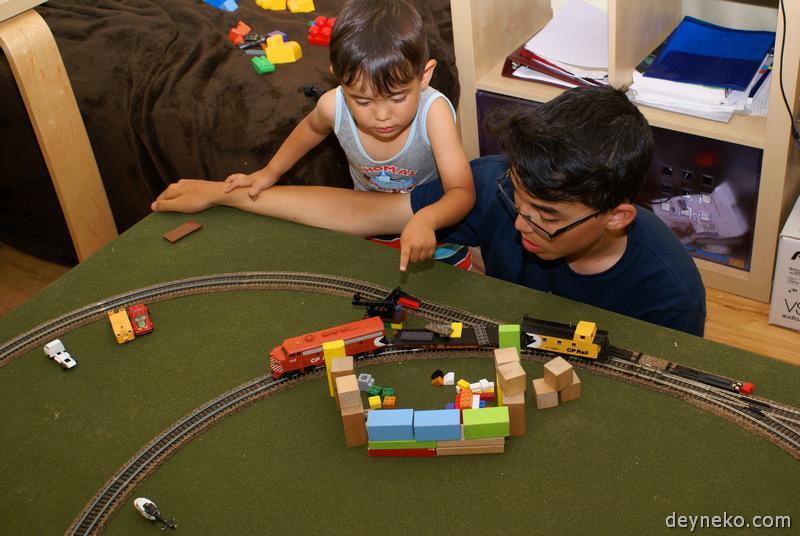 погрузка железнодорожной платформы