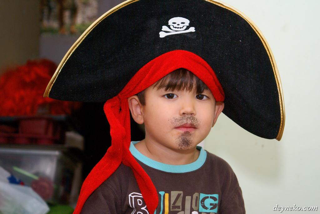 halloween un petit pirate