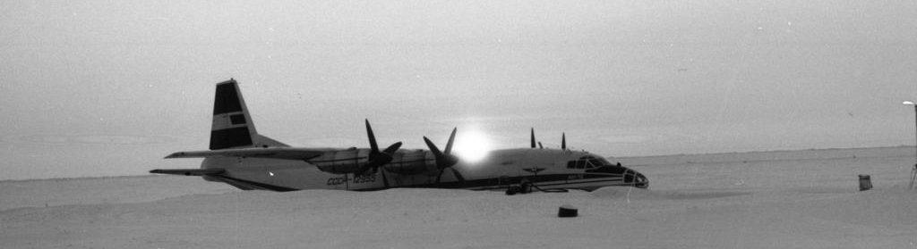 полярный день в арктике Ан-12