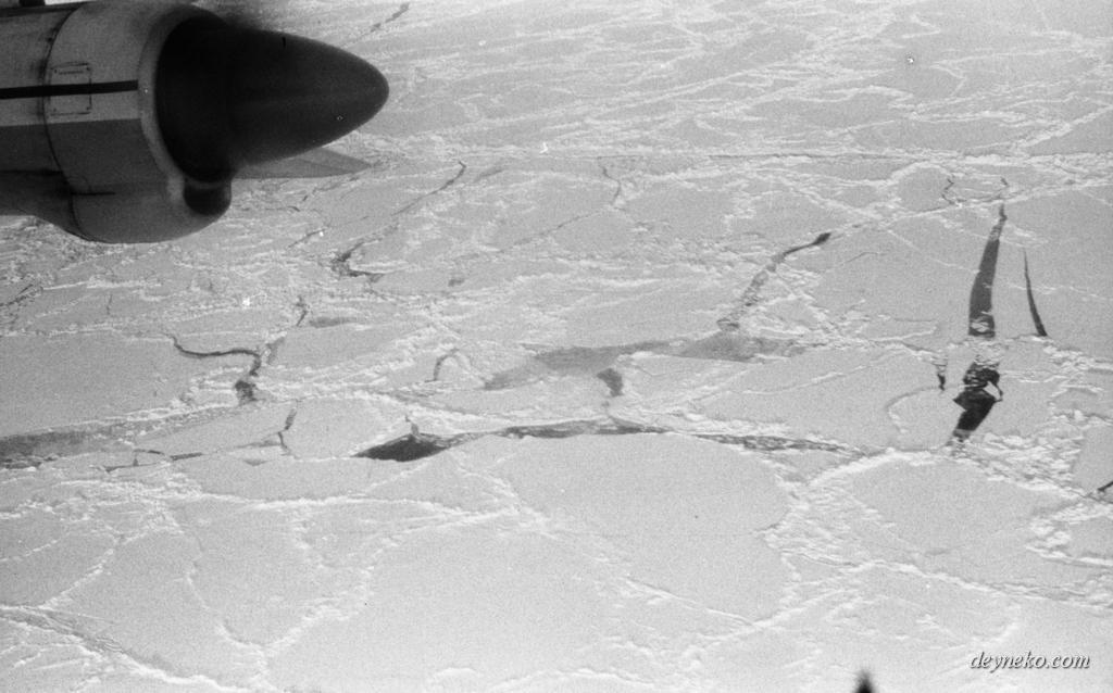 Толщина льда на северном полюсе