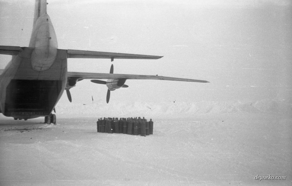 доставка груза на дрейфующую полярную станцию СП-22