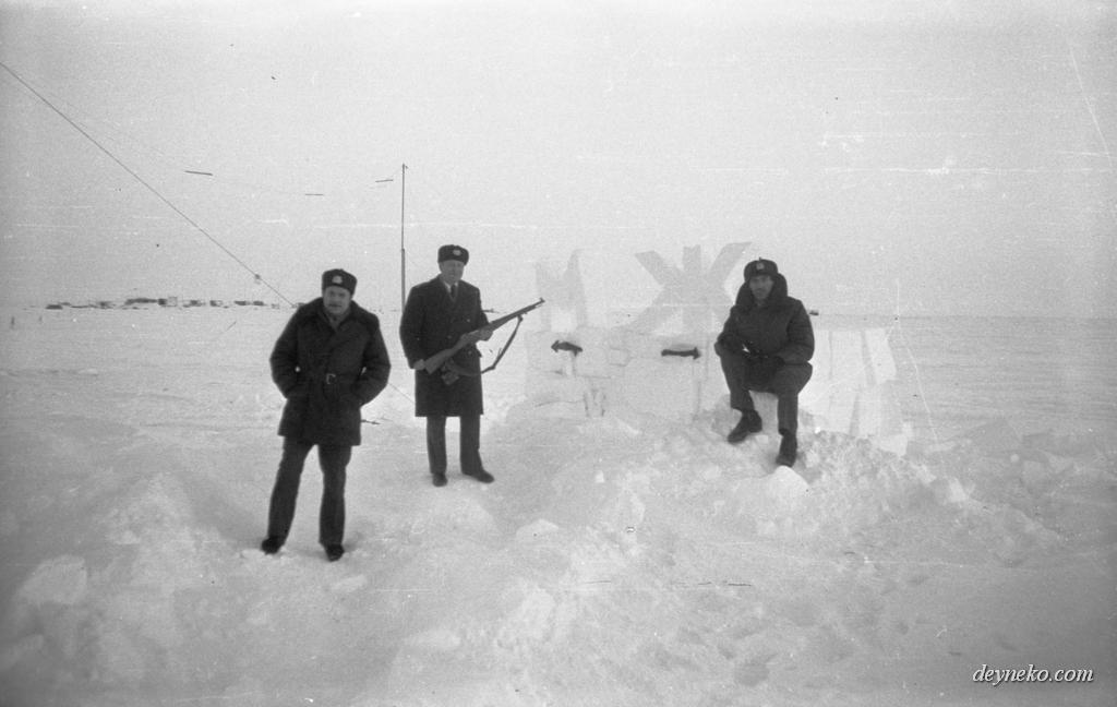 туалет на Северном полюсе
