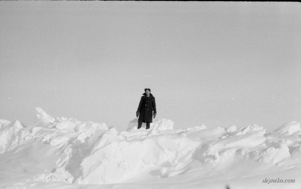 торосы на Северном полюсе