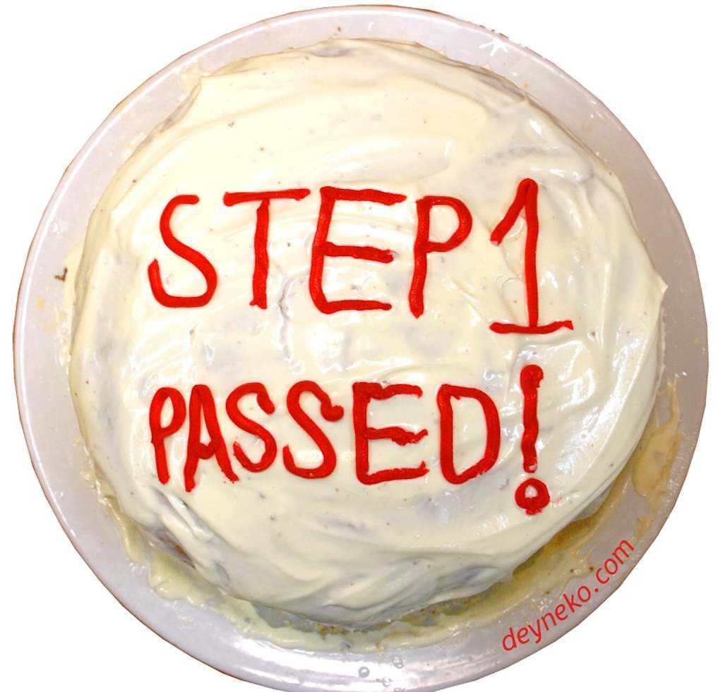 I passed USMLE Step 1!