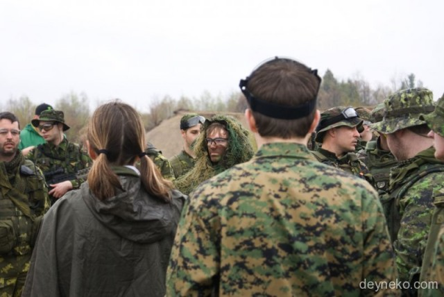 military make up