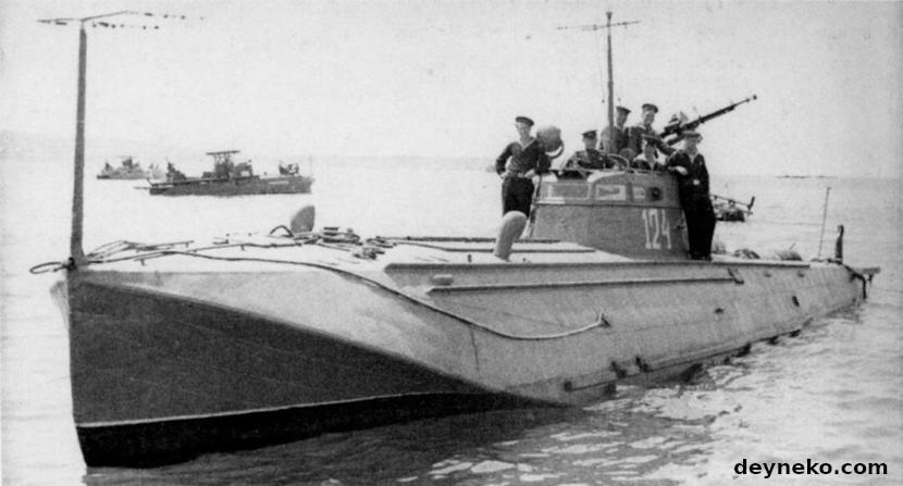 Торпедный катер Г-5 Черноморского флота