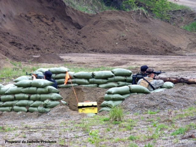 defensive position in airsoft
