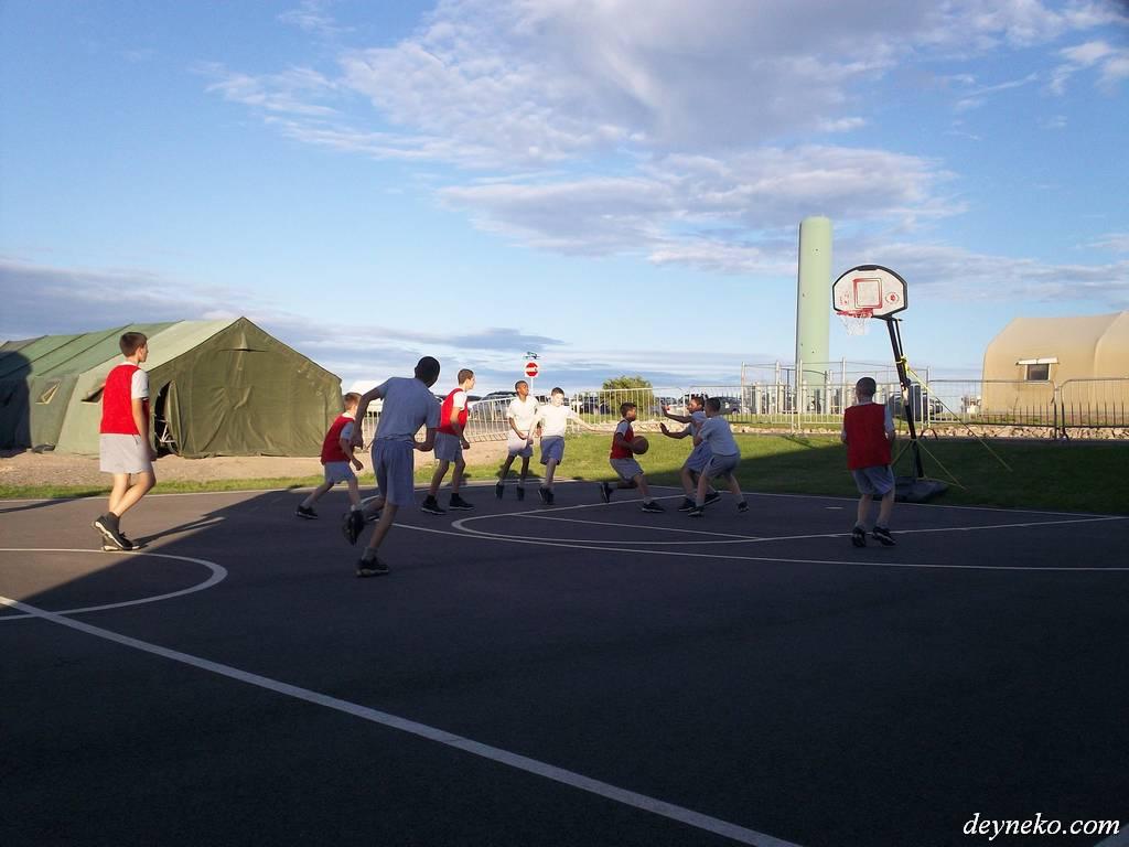 Basket comme sport de base