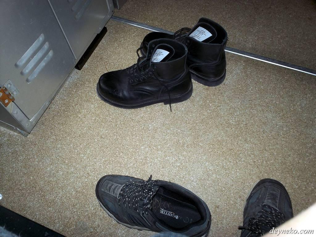 Faire ses bottes comme un cadet
